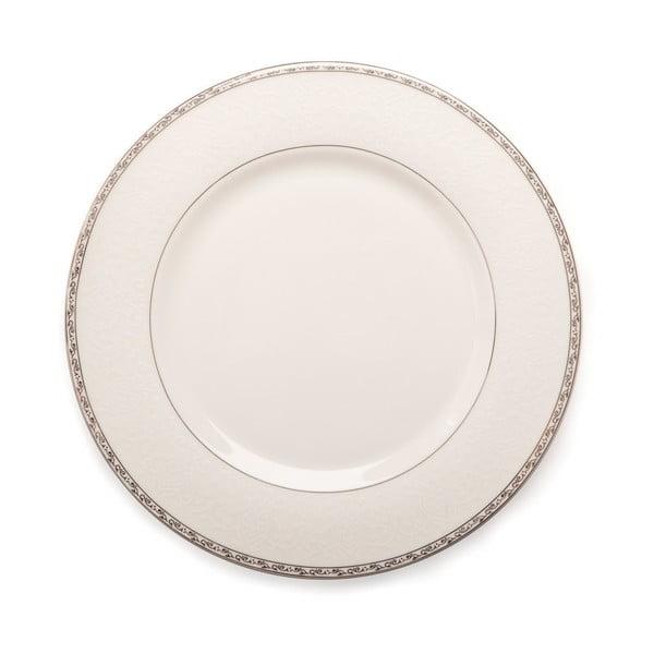 20-częściowy komplet naczyń stołowych z porcelany kostnej Sabichi Platinum