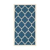 Niebiesko-beżowy dywan na zewnątrz Safavieh Monaco, 60x109cm