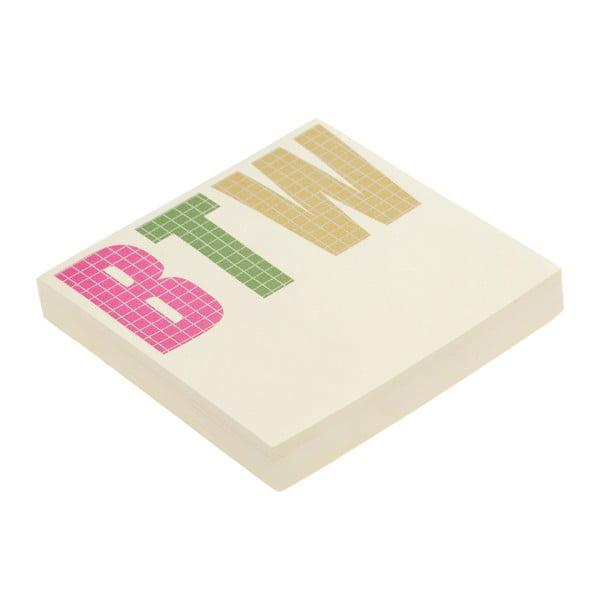 Karteczki samoprzylepne So-Btw