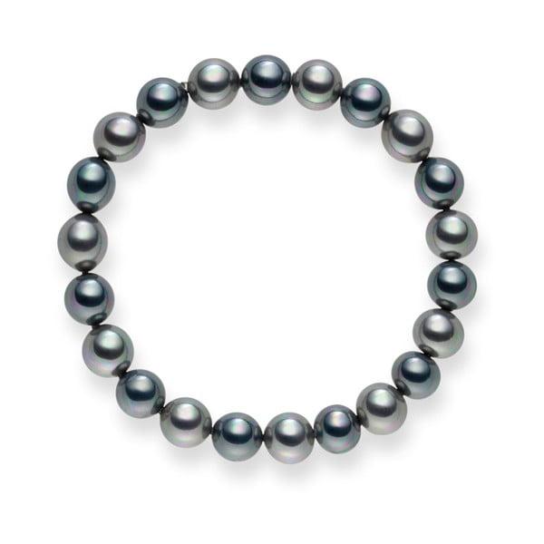 Bransoletka z pereł Mystic Silver, 19 cm