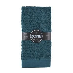 Ciemnozielony ręcznik Zone Dark, 50x100 cm
