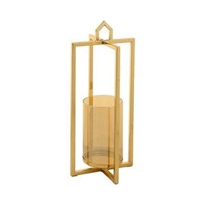 Świecznik w złotej barwie Santiago Pons Star, wys.38cm