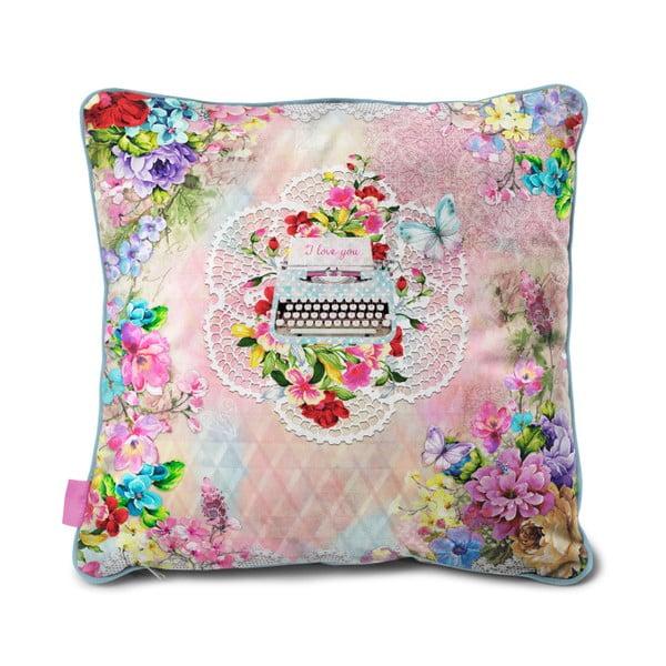 Aksamitna poduszka Dreamhouse So Cute Isa, 70x70cm