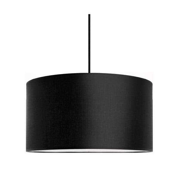 Lampa wisząca Tres, czarna, średnica 36 cm