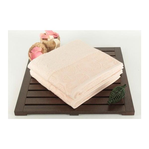 Zestaw 2 ręczników Sal Salmon, 50x90 cm