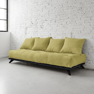 Sofa Senza Black/Avocado Green