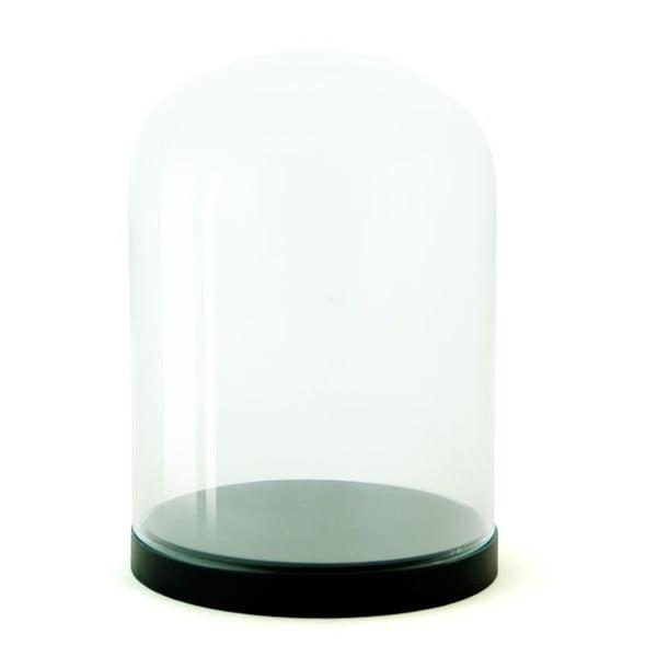 Pojemnik szklany Pleasure Dome Black, 23 cm