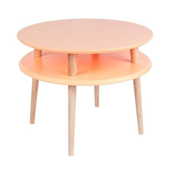 Stolik kawowy UFO 45x57 cm, pomarańczowy
