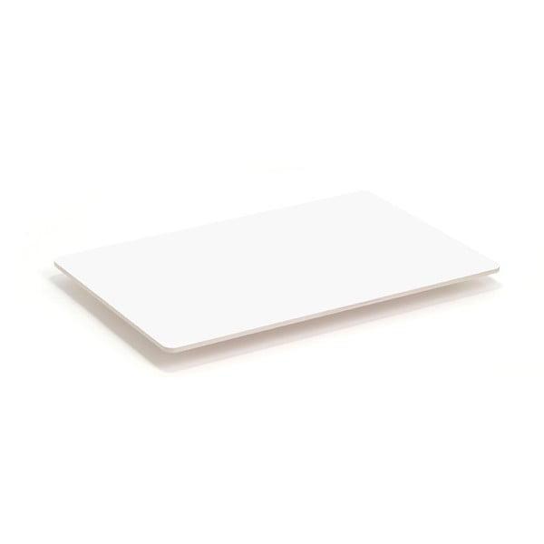 Blat do stolika kawowego Coffee White, 110x70 cm