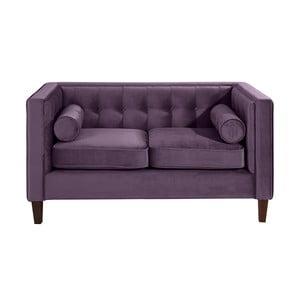 Fioletowa sofa dwuosobowa Max Winzer Jeronimo