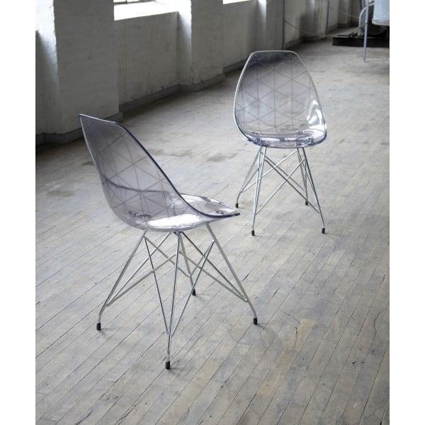 Krzesło Charm Chrome