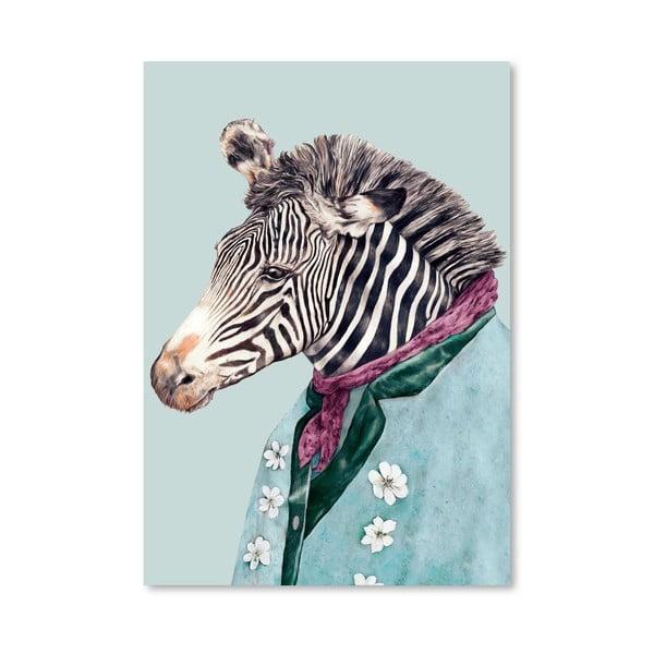 "Plakat ""Zebra"", 42x60 cm"