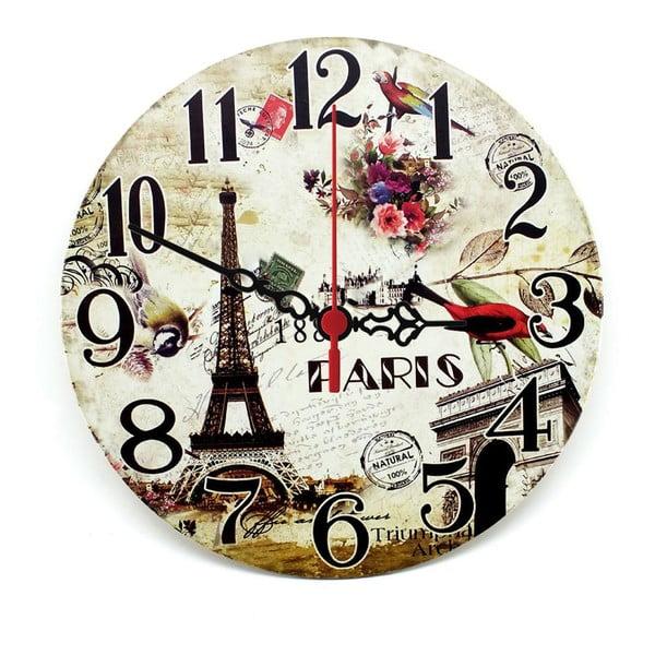 Zegar ścienny Natural Paris, 30 cm