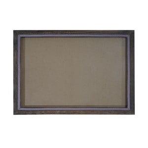 Brązowa ramka na zdjęcia Mendler Shabby, 26x36 cm
