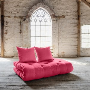 Sofa rozkładana Karup Shin Sano Natur/Magenta