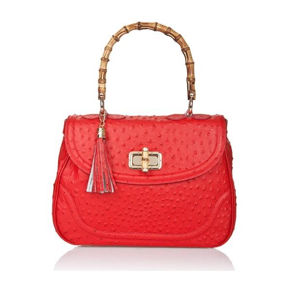 Skórzana torebka Markese 7022 Red