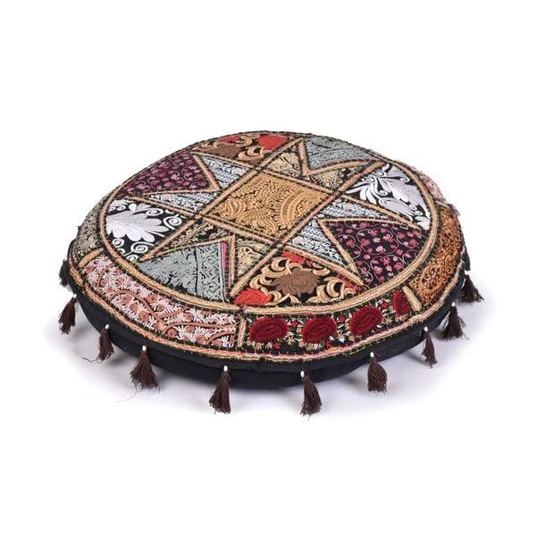 Poduszka do siedzenia wyszywana ręcznie Rajastan