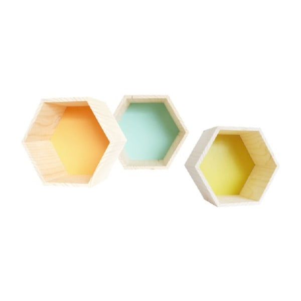 Dekoracja Hexagono Nordic Tangerine