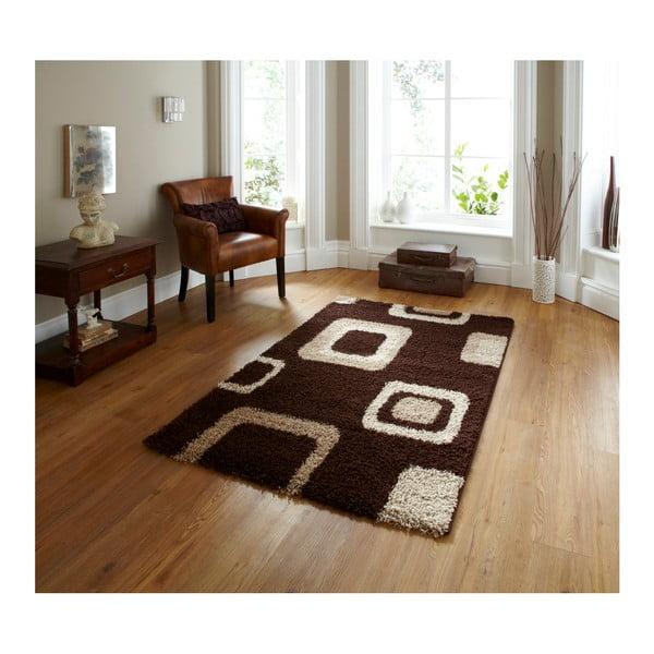 Brązowy dywan Think Rugs Majesty, 60x120 cm