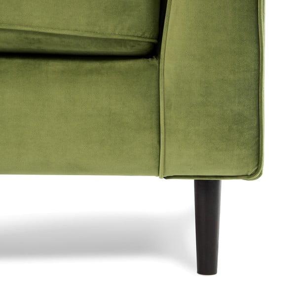 Zielona sofa dwuosobowa VIVONITA Portobello
