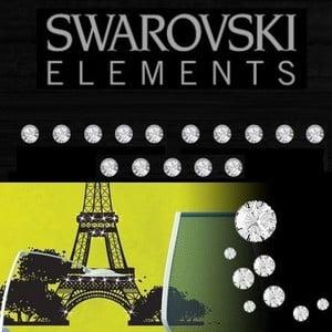 Naklejka Swarovski Swarovski krystalů Ambience
