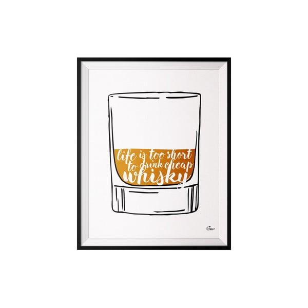Plakat Whisky, 40x50 cm