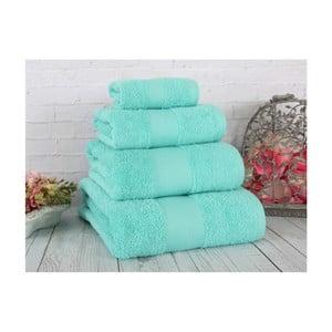 Zielony ręcznik Irya Home Coresoft, 30x50 cm