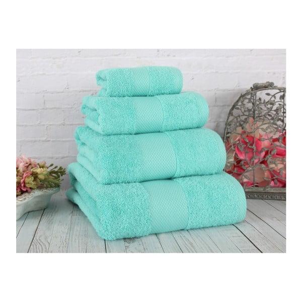 Zielony ręcznik Irya Home Coresoft, 70x130 cm