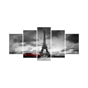 Wieloczęściowy obraz Black&White no. 79, 100x50 cm