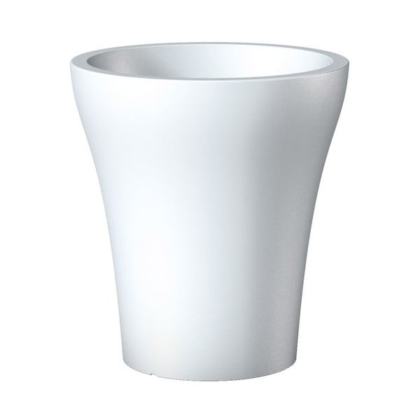 Donica ogrodowa Pure White, 43 cm