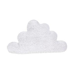 Biała poduszka bawełniana Happy Decor Kids Cloud, 45x45cm