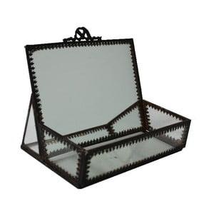 Pudełko z lusterkiem Antic Line Mirror