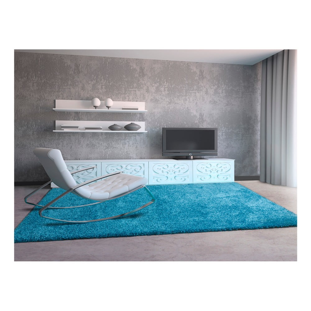 Niebieski dywan Universal Aqua, 160x230cm