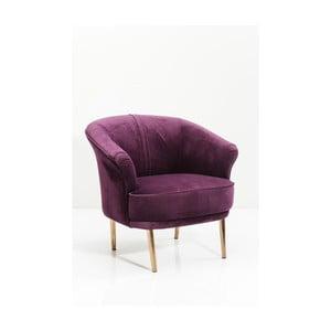 Fioletowy fotel Kare Deisgn Purple Rain