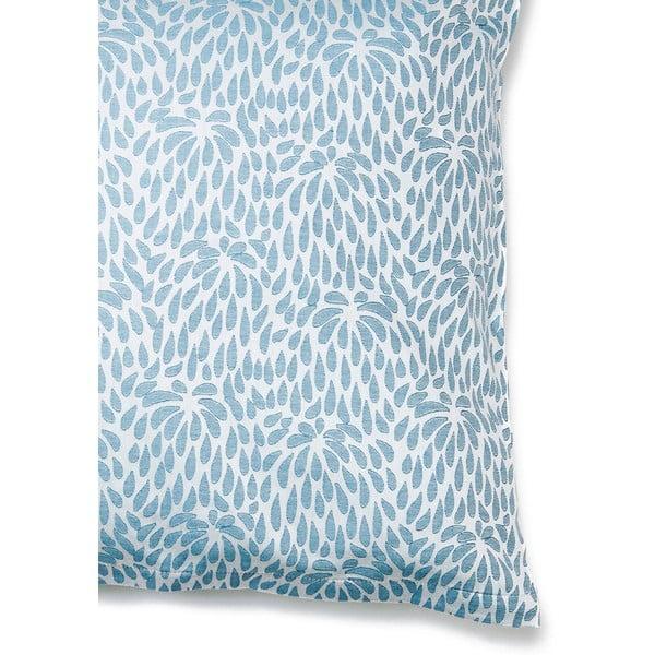 Komplet 2 niebieskich poszewek na poduszki Casa Di Bassi, 80x80 cm