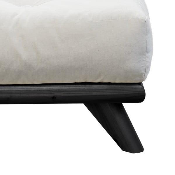 Łóżko Karup Design Senza Bed Black,160x200cm