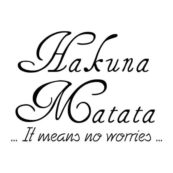 Naklejka Ambiance Hakuna Matata
