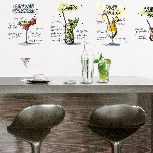 Naklejka Cocktail Party