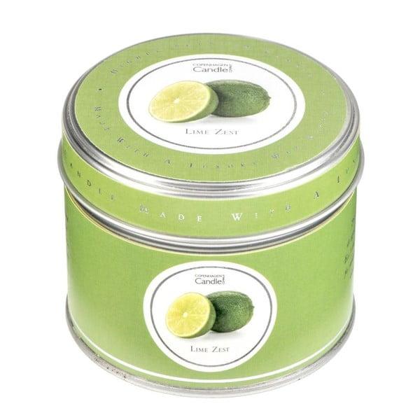 Świeczka zapachowa w puszce Copenhagen Candles Lime Zest, czas palenia 32 godziny