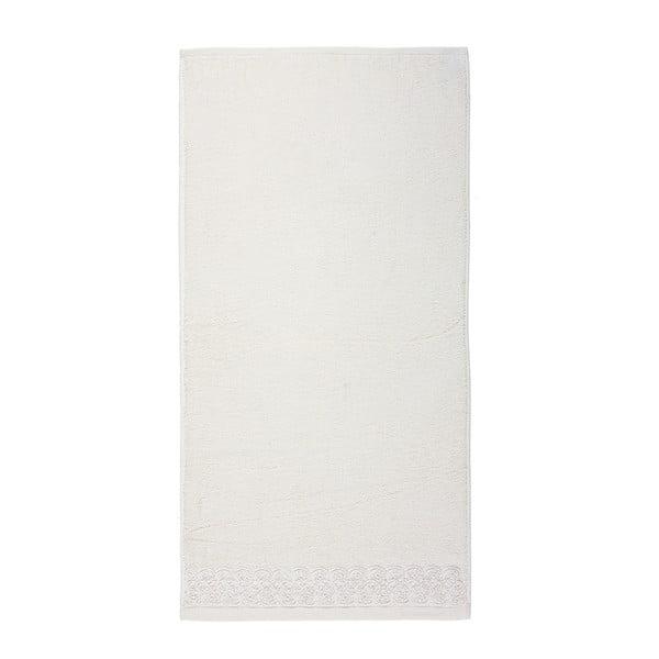 Ręcznik Saran Ivory, 50x100 cm