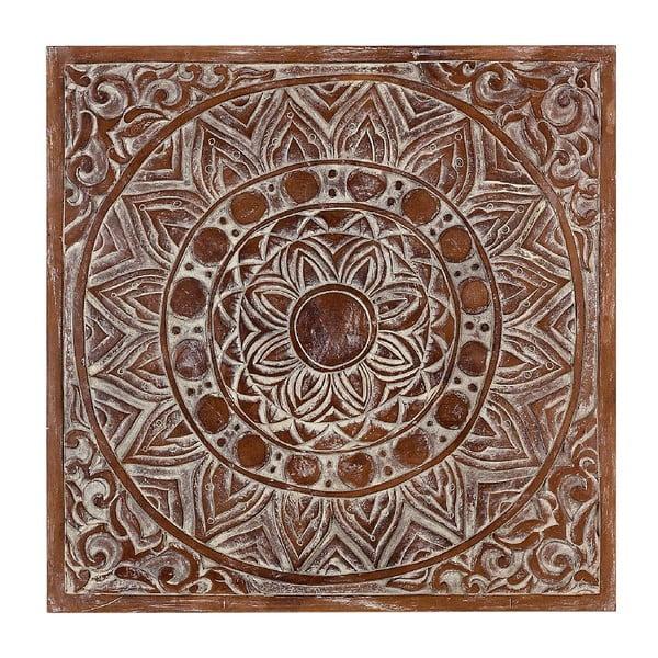 Dekoracja ścienna White Pannel, 80x80 cm