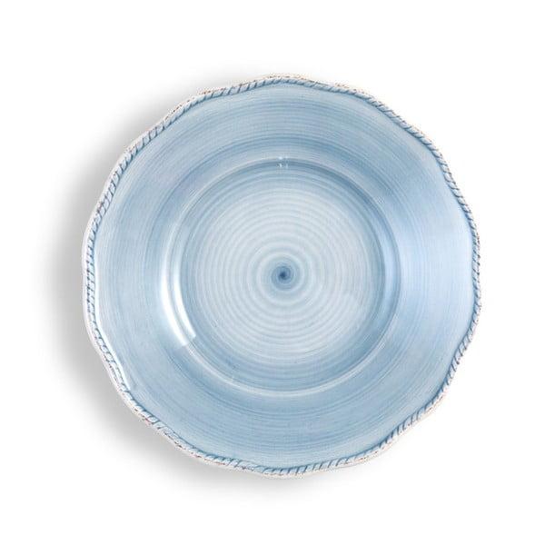 Mały jasnoniebieski talerz Brandani