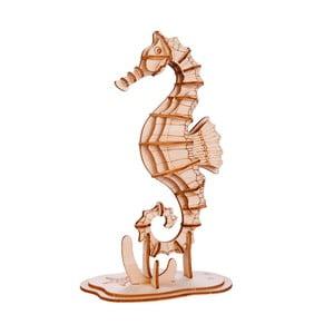 Puzzle 3D z ogorzałki wełnistej Kikkerland Seahorse