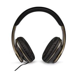 Czarno-złote słuchawki Veho Glorious