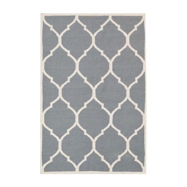 Dywan ręcznie tkany Lara Grey, 60x90 cm
