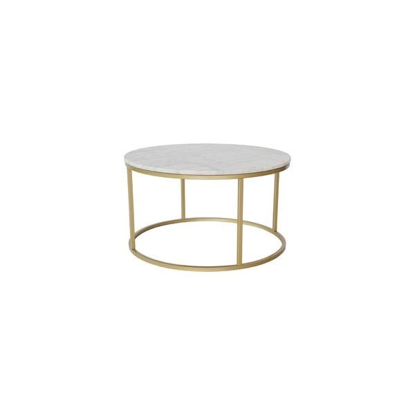 Stolik Brass Marble, 85 cm