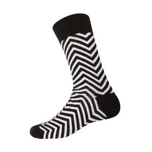 Skarpetki Linie Black/White, rozm. 40-44
