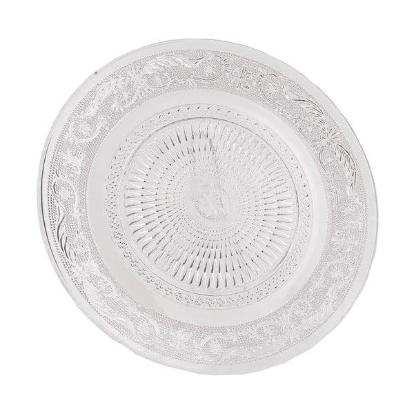 Szklany talerz Clayre Eef, 25 cm