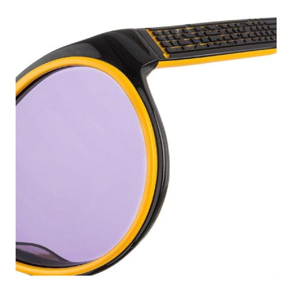 Męskie okulary przeciwsłoneczne Just Cavalli Black Orange