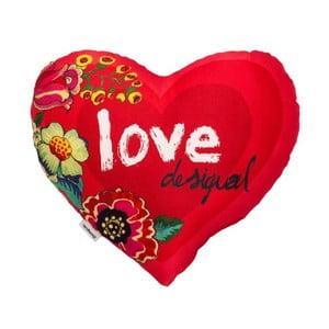 Poduszka DESIGUAL Heart Amaranth